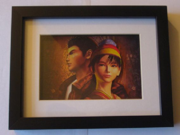 Shenmue 3D Diorama Shadow Box